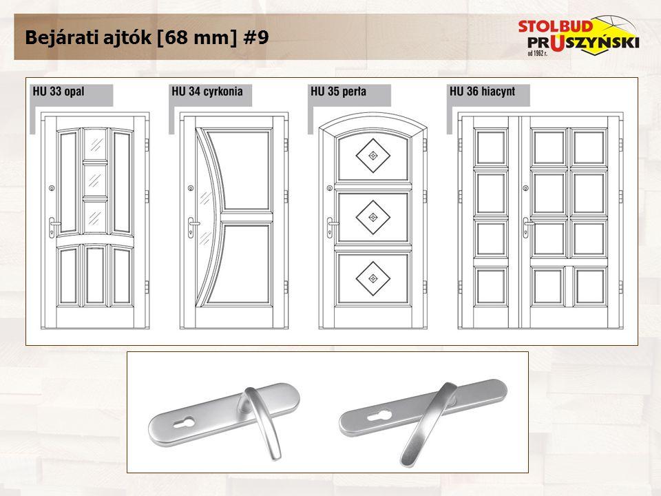 Bejárati ajtók [68 mm] #9